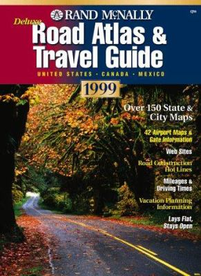 Deluxe Road Atlas & Travel Guide: United States, Canada, Mexico 9780528840364
