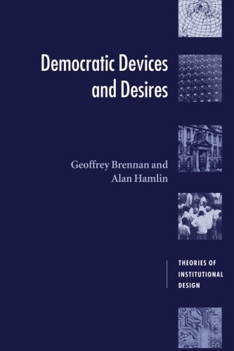 Democratic Devices and Desires 9780521639774