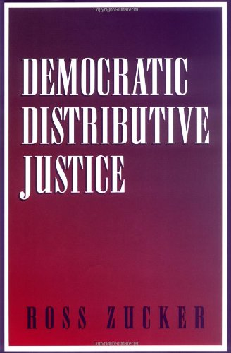 Democratic Distributive Justice 9780521790338