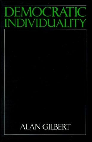 Democratic Individuality 9780521387095