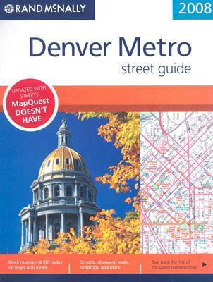 Denver Metro Street Guide 9780528868221