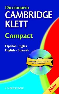 Diccionario Cambridge Klett Compact: Espanol-Ingles, English-Spanish [With CDROM] 9780521540247