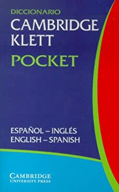 Diccionario Cambridge Klett Pocket Espanol-Ingles/English-Spanish 9780521802994