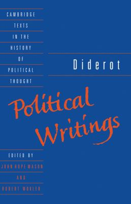 Diderot: Political Writings 9780521360449