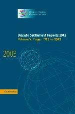 Dispute Settlement Reports 2003 9780521859950