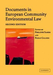 Documents in European Community Environmental Law: 9780521540612