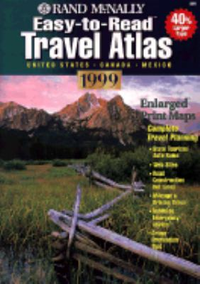Easy-To-Read Travel Atlas: United States, Canada, Mexico 9780528840210