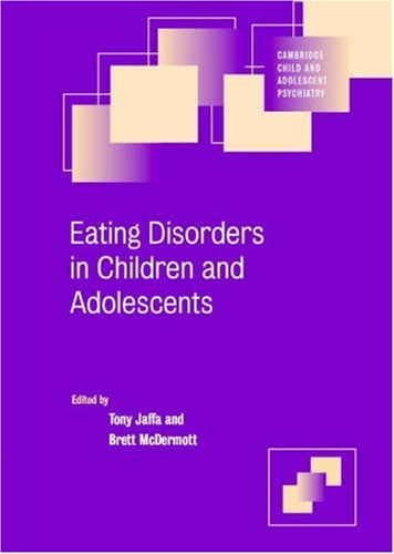 Eating Disorders in Children and Adolescents 9780521613125