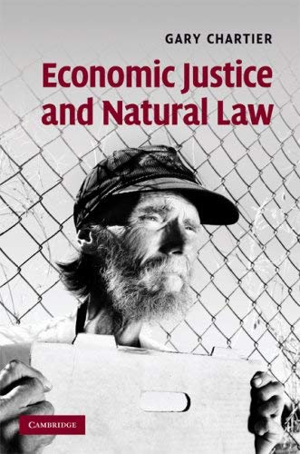 Economic Justice and Natural Law 9780521767200