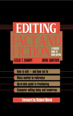 Editing Fact and Fiction 9780521450805