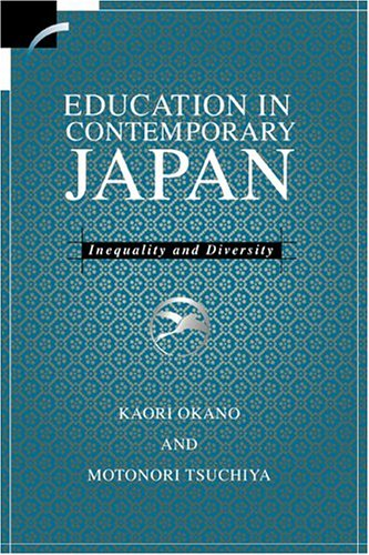 Education in Contemporary Japan 9780521622523