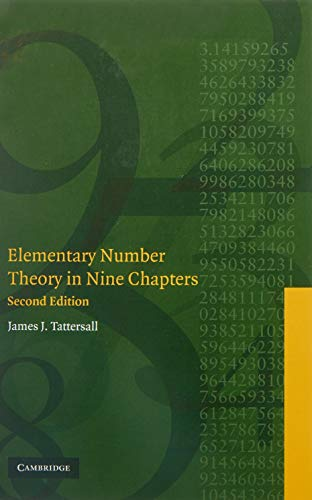 Elementary Number Theory in Nine Chapters 9780521850148