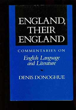 England, Their England: Commentaries on English Language and Literature