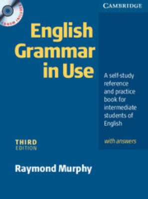 English Grammar in Use: A Self-Study Reference and Practice Book for Intermediate Students of English with Answers [With CDROM] 9780521537629