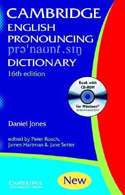 English Pronouncing Dictionary [With CDROM] 9780521017138