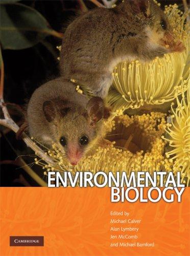 Environmental Biology 9780521679824