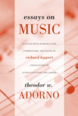 Essays on Music 9780520231597