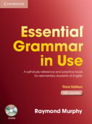 Essential Grammar in Use: A Self-Study Reference and Practice Book for Elementary Students of English with Answers [With CDROM] 9780521675437