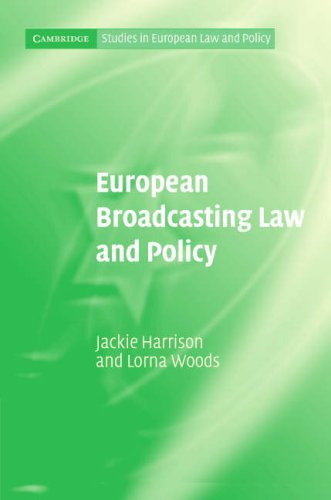 European Broadcasting Law and Policy 9780521848978