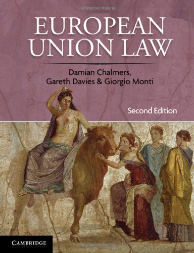 European Union Law: Cases and Materials 9780521121514