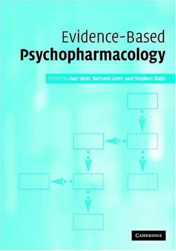 Evidence-Based Psychopharmacology 9780521531887