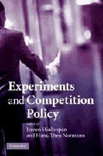 Experiments and Competition Policy 9780521493420