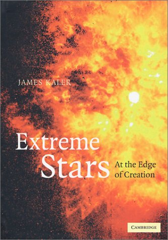 Extreme Stars: At the Edge of Creation 9780521402620