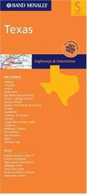 Folded Map-Texas