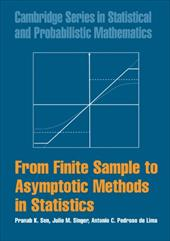 From Finite Sample to Asymptotic Methods in Statistics 1784632