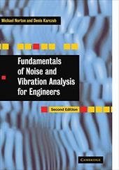 Fundamentals of Noise and Vibration Analysis for Engineers 1756770