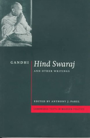 Gandhi: 'Hind Swaraj' and Other Writings 9780521574310