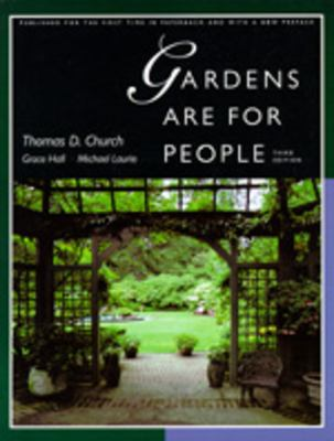 Gardens Are for People, Third Edition: With a New Preface 9780520201200