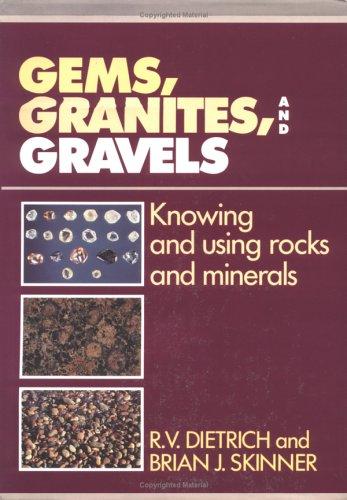 Gems, Granites and Gravels 9780521344449