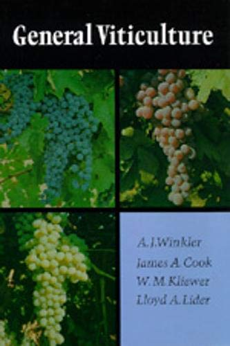 General Viticulture: Second Revised Edition 9780520025912