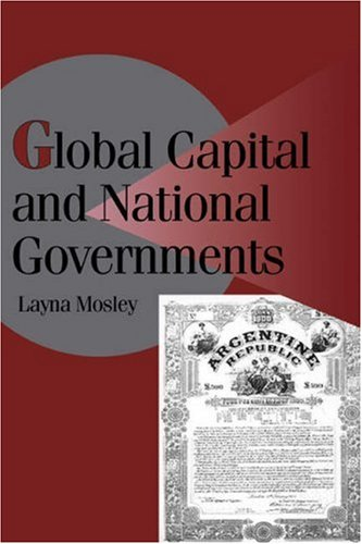 Global Capital and National Governments 9780521521628