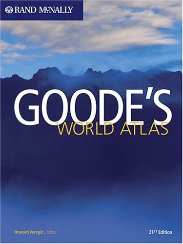 Goode's World Atlas 9780528853395