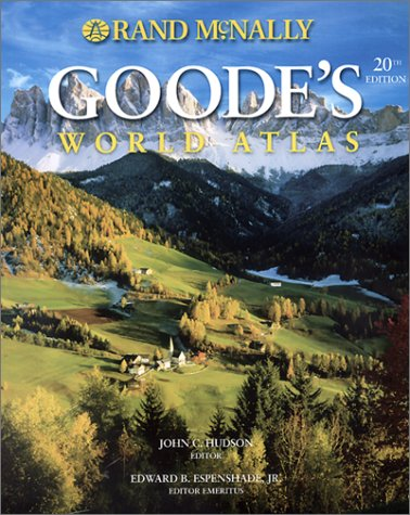 Goode's World Atlas 9780528843365