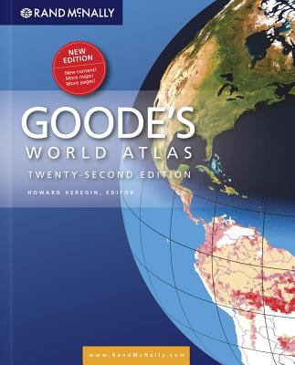 Goodes Atlas 22nd Hardcover 9780528877544