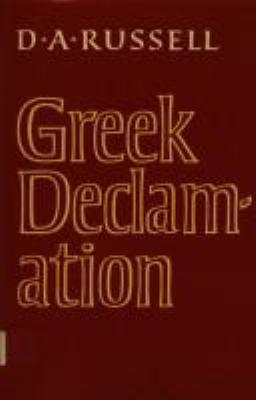 Greek Declamation 9780521257800