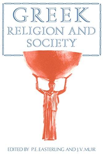 Greek Religion and Society 9780521287852