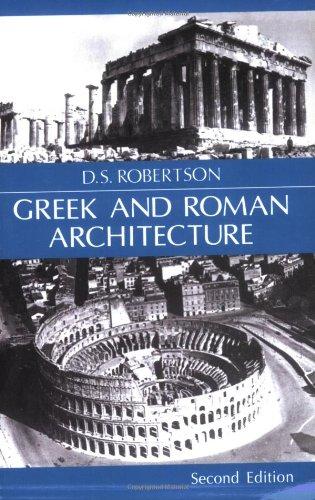 Greek and Roman Architecture 9780521094528