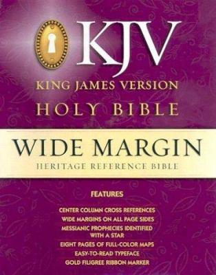 Heritage Wide Margin Bible