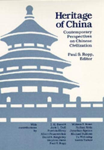 Heritage of China: Contemporary Perspectives Chinese CIV 9780520064416