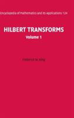 Hilbert Transforms: Volume 1 9780521887625