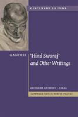 Hind Swaraj and Other Writings 9780521146029
