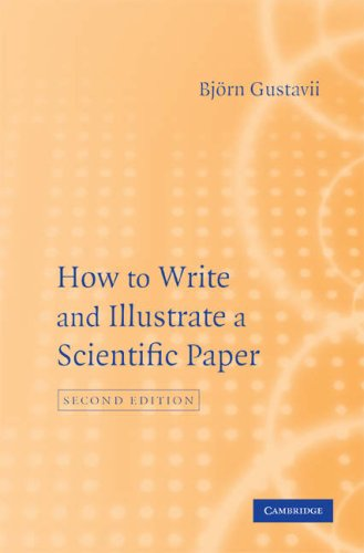 How to Write and Illustrate Scientific Papers 9780521878906