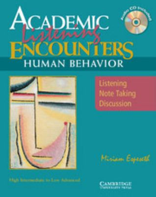 Human Behavior: Listening, Note Taking, and Discussion [With CD] 9780521606202