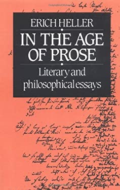 In the Age of Prose: Literary and Philosophical Essays 9780521274951