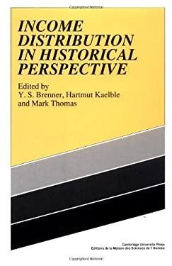 Income Distribution Historical 9780521356473