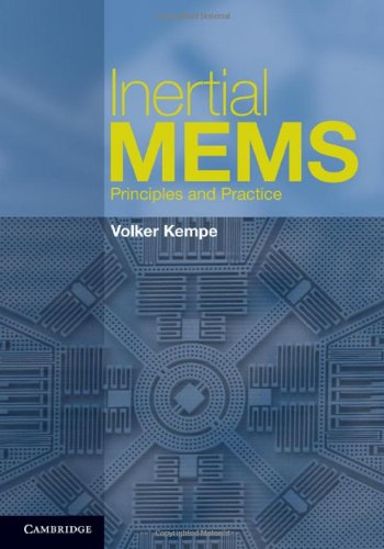 Inertial MEMS: Principles and Practice 9780521766586